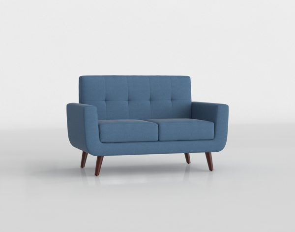3D Loveseat Wayfair Rumsey