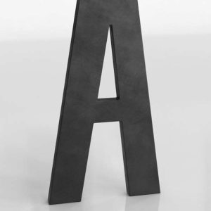 1930's French Shop Metal Letter A RHBaby&Child