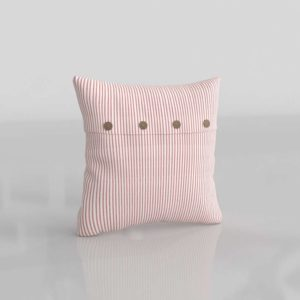 Pizano Candy Cane Pillow