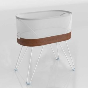 Bassinet Crib Nursery Interior