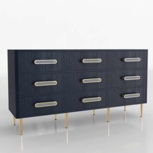 Odetta Nine Drawer Dresser Anthropologie