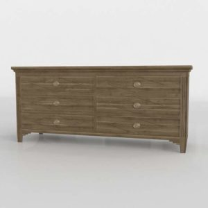 Six Drawer Distressed Dresser Decorpad Furniture