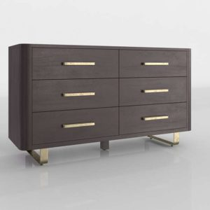 Gwen Drawer Dresser Crate&Barrel