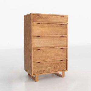 Fulton 5 Drawer Chest Unison Home