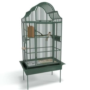 3D Bird Cage Home Decor