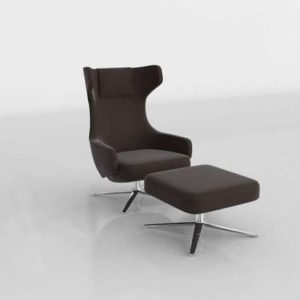 Grand Repos Lounge Chair & Ottoman Design Within Reach