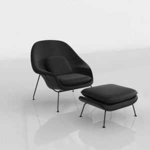 Womb Chair & Ottoman Design Within Reach