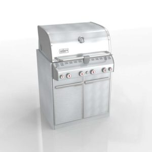 Webe Summit S-460 BuiltIn Gas Grill