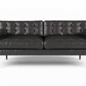 Monroe Leather Sofa West Elm