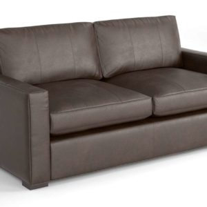Hudson Leather Sofa Ethan Allen