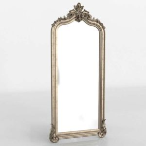 Silver Leafed Wall Mirror Wayfair