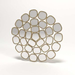 Honeycomb Ring Mirror Anthropologie