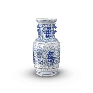 Chinoiserie Happiness Vase Frontgate Furniture