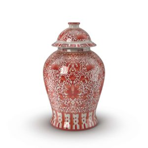 Chinoiserie Flower Jar Frontgate Decor