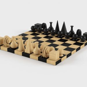 Man Ray Chess Set Interior Game Furniture