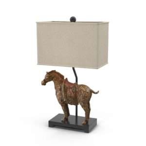 Dynasty Horse Lamps Horchow
