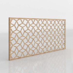 Westelm Lattice Wall Art Rectangle