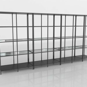 3D Design Shelving and Bookcases GE3D9