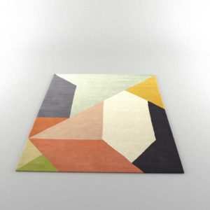 CB2 Division Rug