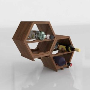 Kitchen Furniture and Decor Wine Rack