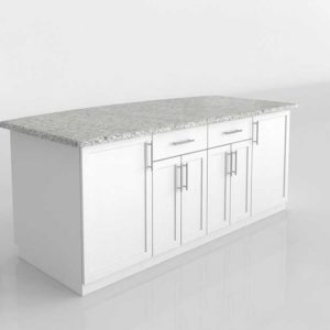 Kitchen Furniture and Decor Modelado 3D