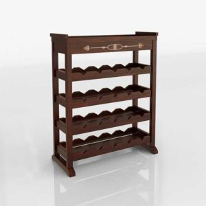 Stickley Mission Wine Rack