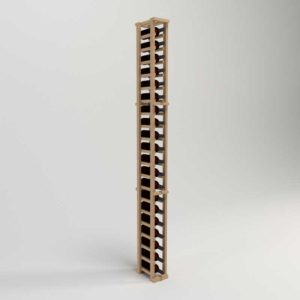 AllModern Rustic Pine 21 Bottle Floor Wine Rack
