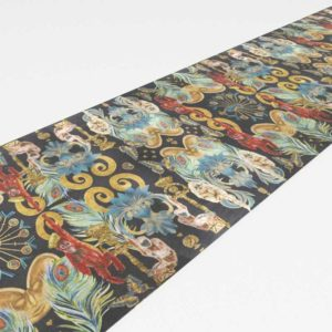 CB2 Regal Monkeys Jungle Table Runner 90