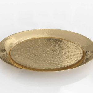 CB2 Cassini Hammered Brass Bowl