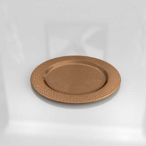 Pier1 Copper Hammered Charger Plate