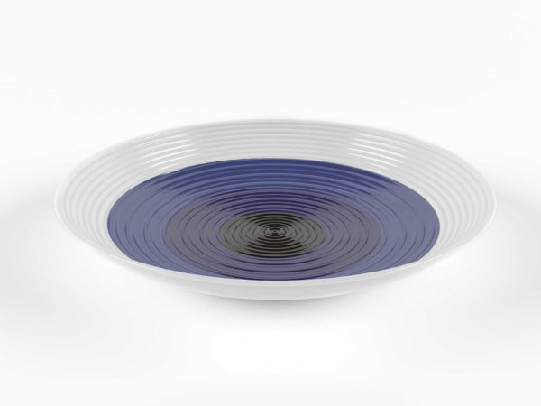 Crateandbarrel Swirl Centerpiece Bowl