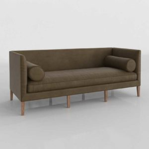 Couch 3D Model Settees&Chaises Living Room 117