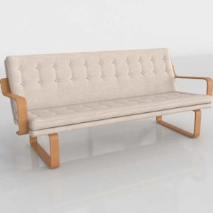Couch 3D Model Settees&Chaises Living Room 118
