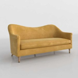 Anthropologie Pied A Terre Sofa