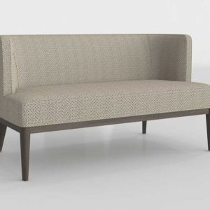Grayson Settee Glancing Eye 3D