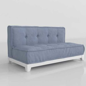 PBTeen Cushy Loveseat