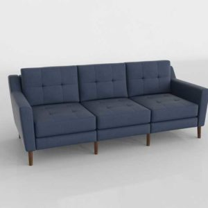 Burrow Sofa 3D Design