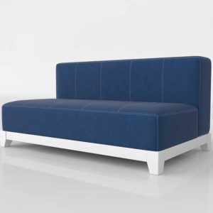 PBTeen Cushy Loveseat W Denim