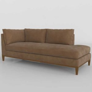 Bumper Chaise 3D Model ArtDIY7