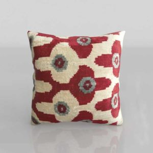 C&B Paavo Silk Velvet 3D Pillow