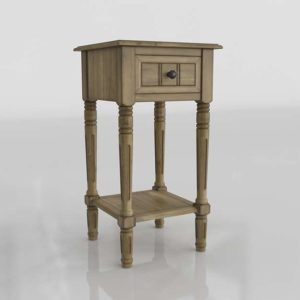 Overstock Maison 3D Accent Table