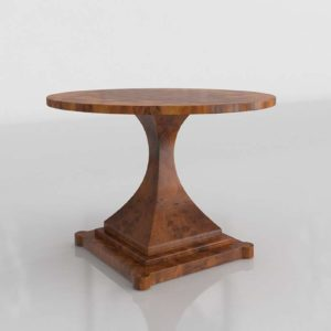 3D Accent Table 0855
