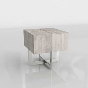 ZGallerie Clifton Square 3D End Table