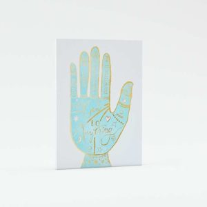 PotteryBarnKids Hand 3D Print Stretched Canvas
