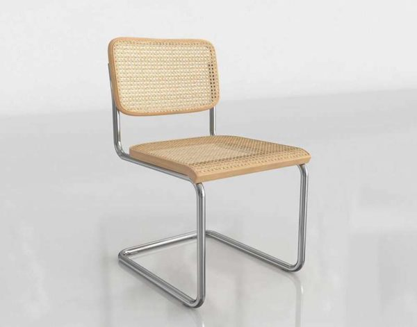 3D Chair Knoll Cesca