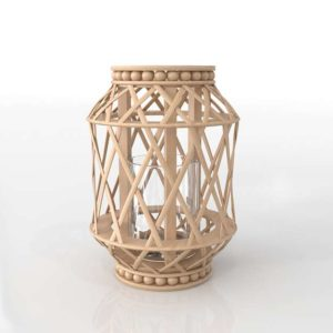 3D Candle Holder Garden GE 111
