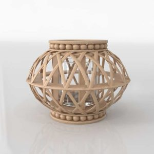 3D Candle Holder Garden GE 112