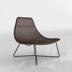 3D Chair Garden GE 122