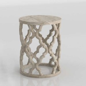 3D Side Table Garden GE 128