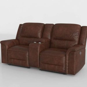 Sofa 3D Reclinable Ashley Furniture 02